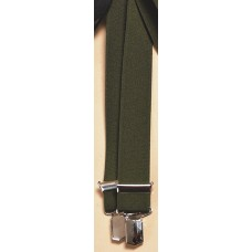 Seeland Braces - Green with Clip Closure