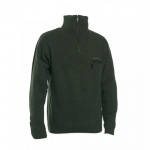 Deerhunter Kendal Knit with zip Neck (wind resistant jersey)