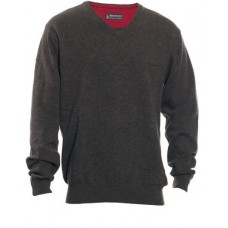 Deerhunter Brighton knit jumper with V-neck