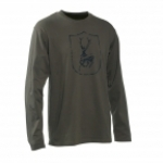 Deerhunter Logo T-Shirt L/S with Deerhunter logo