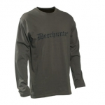 Deerhunter Logo T-Shirt L/S with Deerhunter