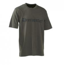 Deerhunter Logo T-Shirt S/S with Deerhunter