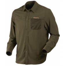 Harkila Herlet Tech long sleeve shirt in Willow Green