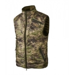 Harkila Lynx Insulated Reversible waistcoat in AXIS MSP Forest Green and Willow green