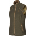 Harkila Sandhem Lady Fleece Gilet Willow Green  plus free harkila socks