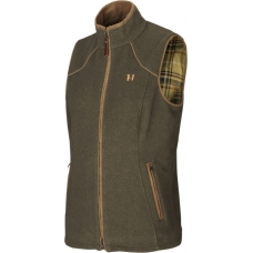 Harkila Sandhem Lady Fleece Gilet Willow Green