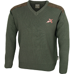 Jack Pyke Pullover ( V neck with pheasant motif)