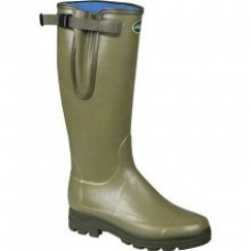 Le Chameau Vierzonord / XL Wellington Boots - Wider fitting calf