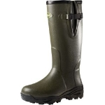 "Seeland Countrylife 17"" 3.5mm side zip wellington boot  plus free hunting socks rrp £14.99"