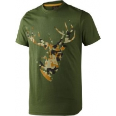 Seeland T-Shirt Camo Stag