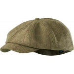 Seeland Ragley 8 Panel Cap in Moss Check