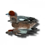 FUD European Wigeon Decoys - Six Pack