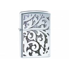 Zippo Filigree - High Polish  Chrome