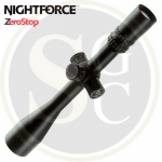 Nightforce NXS 5.5-22x50 - Zerostop