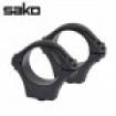 Optilock Sako Tikka Rings Blue 1 Inch 26mm Medium