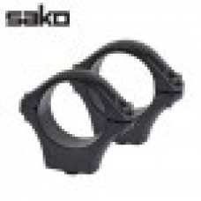 Optilock Sako Tikka Rings Blue 1 Inch 26mm Medium