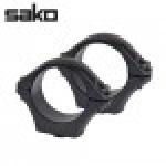 Optilock Sako tikka Rings Blue 1 Inch 26mm Extra Low