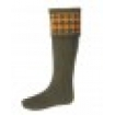 House of cheviot chessboard socks